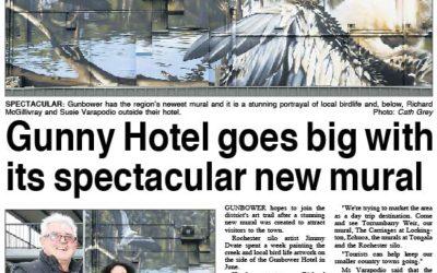 Gunbower Pub makes news!